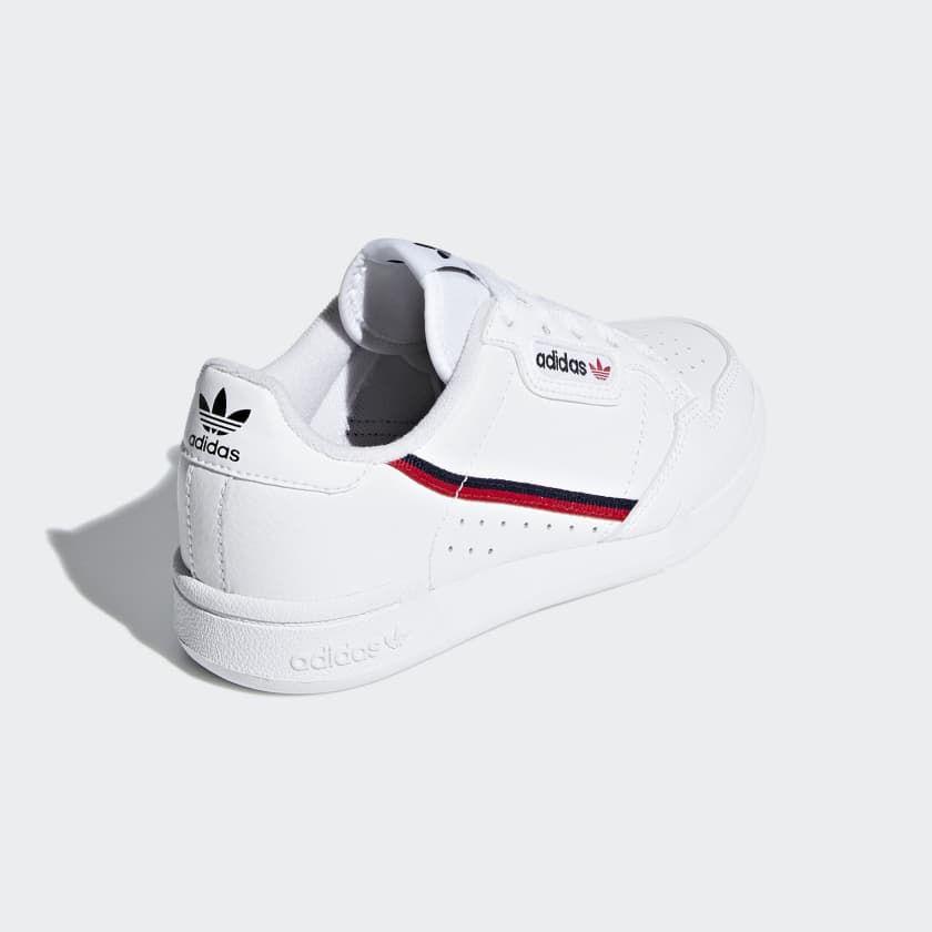 adidas continental 80 j scarpe da ginnastica unisex bambini