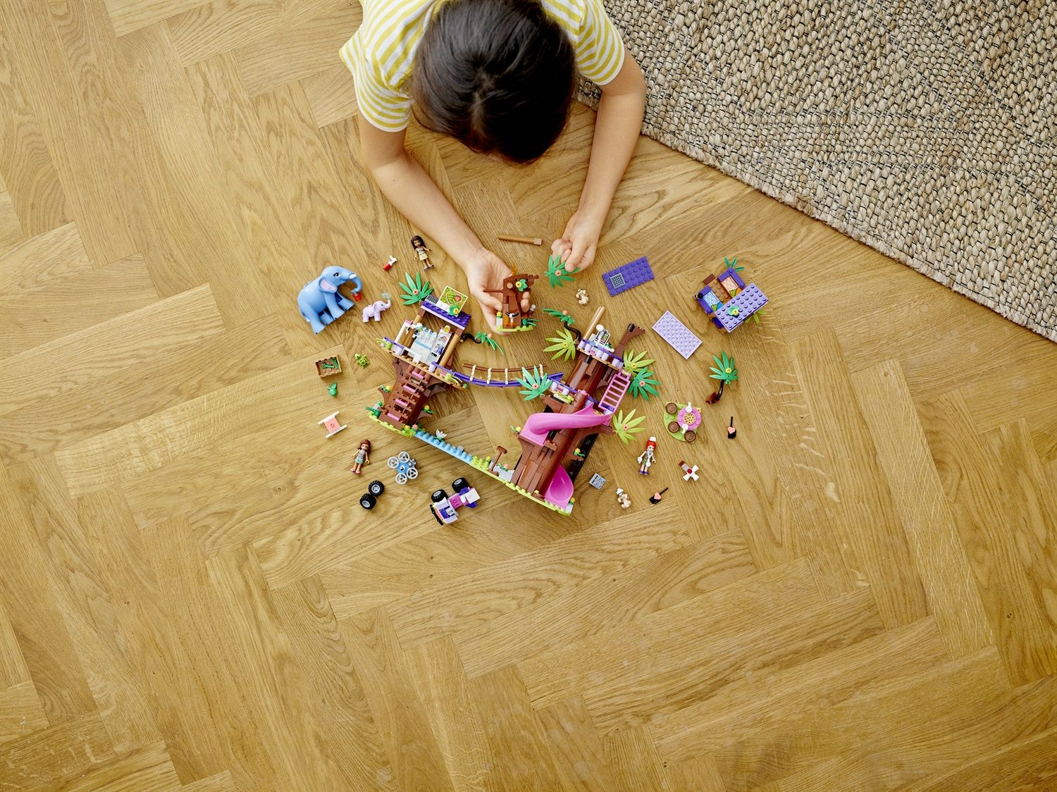 Lego Friends 41424 Base di soccorso tropicale