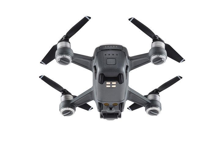 Dji Spark drone bianco