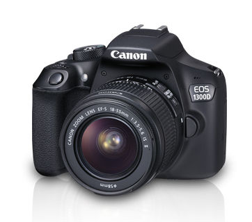 Canon EOS 1300D + 18-55mm