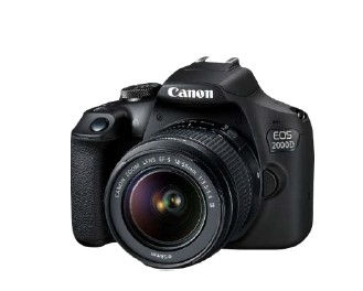 Canon EOS 2000D + 18-55mm