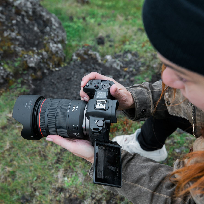 Canon EOS R + 24-105mm