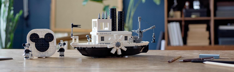 Lego Disney 21317 Steamboat Willie