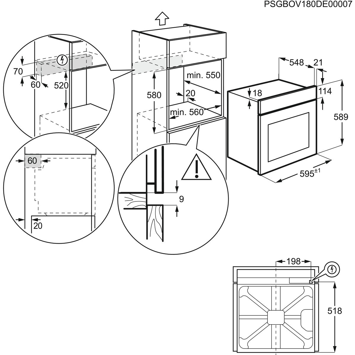 Electrolux EOC3401AOX