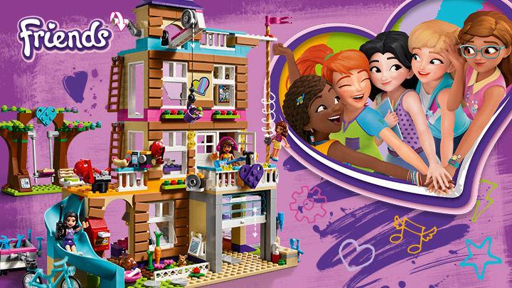 Lego Friends 41340 La casa dell'amicizia