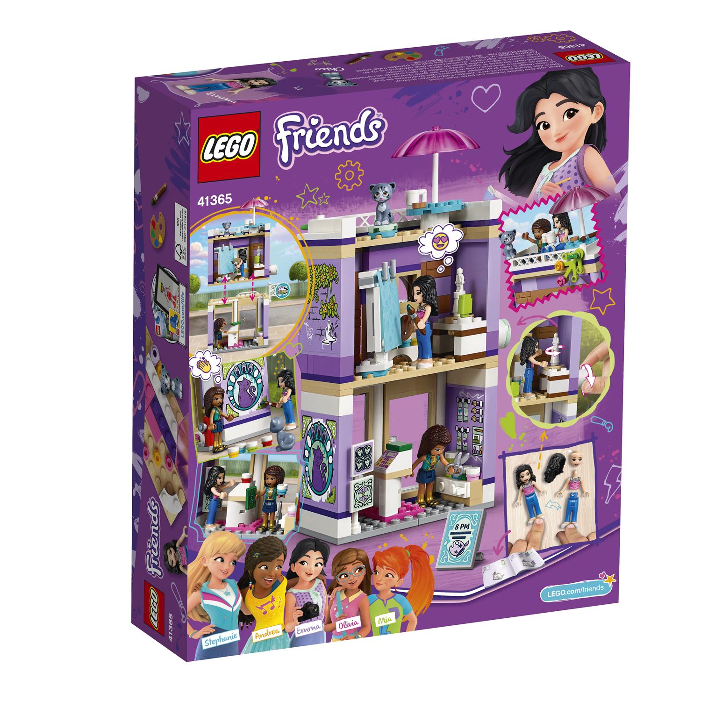 Lego Friends 41365 Lo studio artistico di Emma