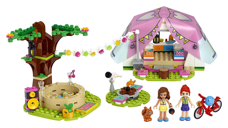 Lego Friends 41392 Glamping nella natura