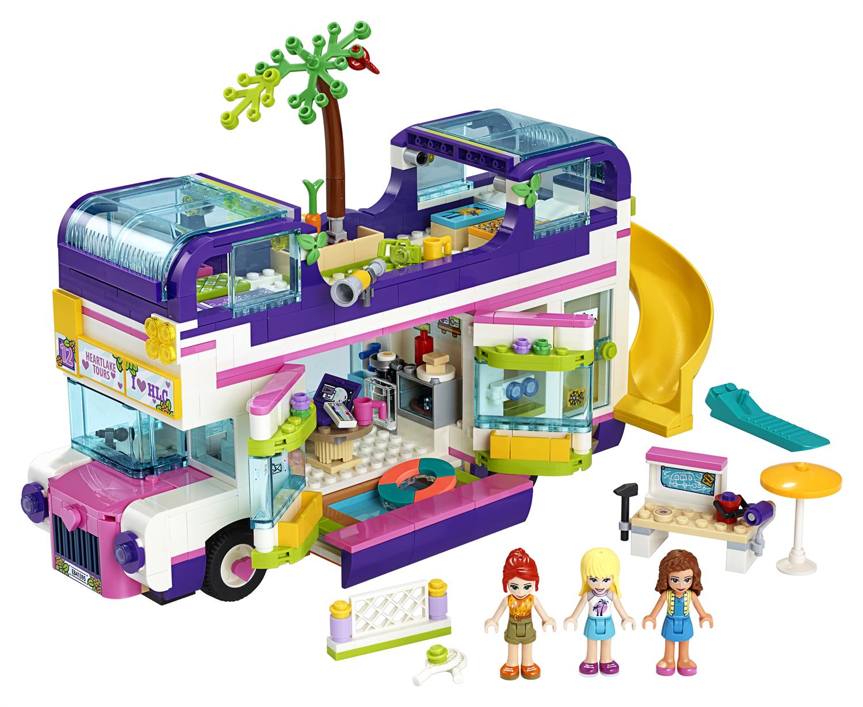 Lego Friends 41395 Il bus dell'amicizia