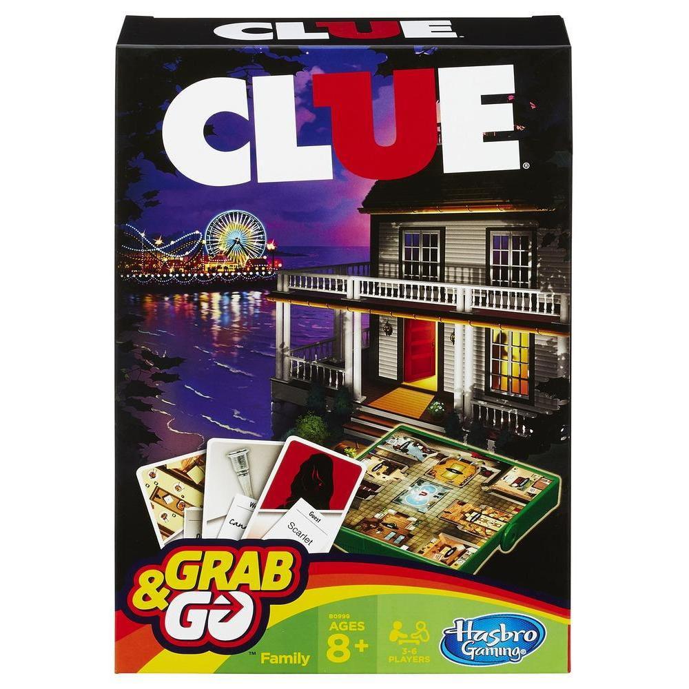 Hasbro Cluedo Travel
