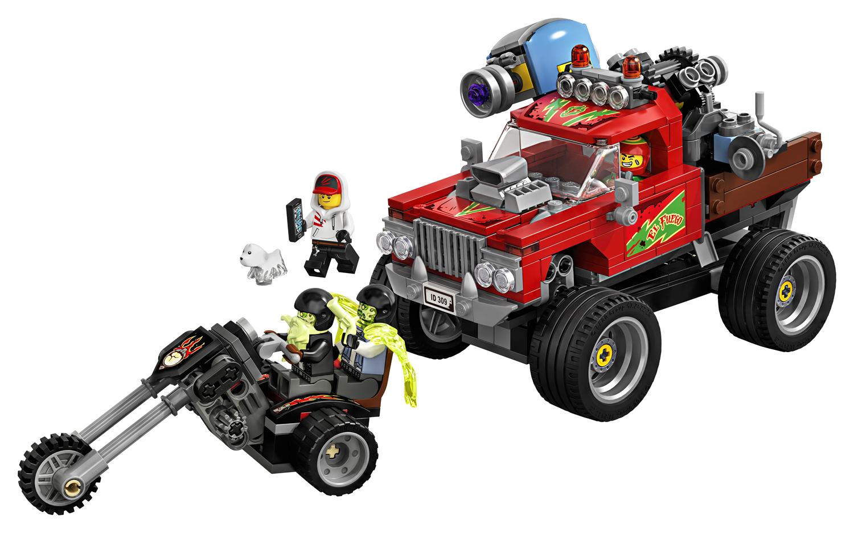 Lego Hidden Side 70421 Lo Stunt Truck di El Fuego