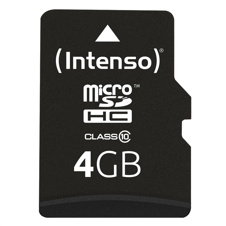 Intenso microSDHC 4 GB Class 10