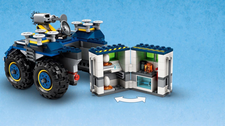 Lego Jurassic World 75940 Evasione di Gallimimus e Pteranodonte