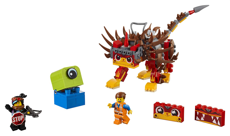 Lego Movie 2 70827 Ultrakatty e Lucy guerriera