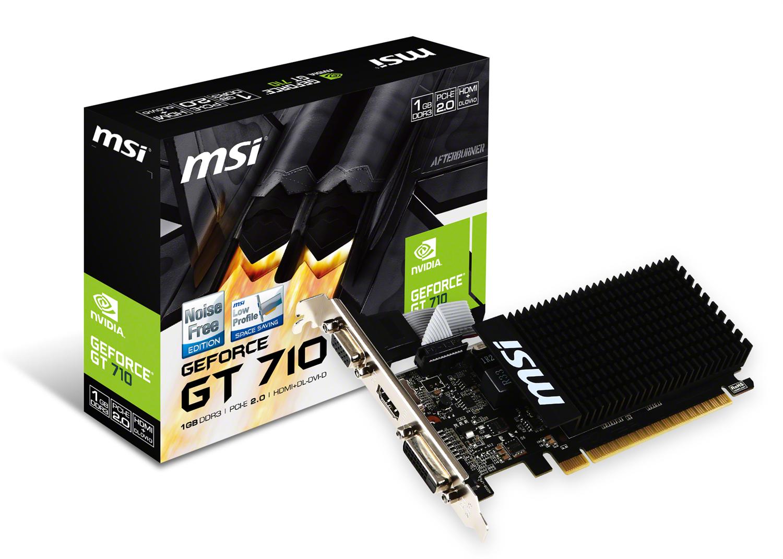MSI GeForce GT 710 1GD3H LP 1GB