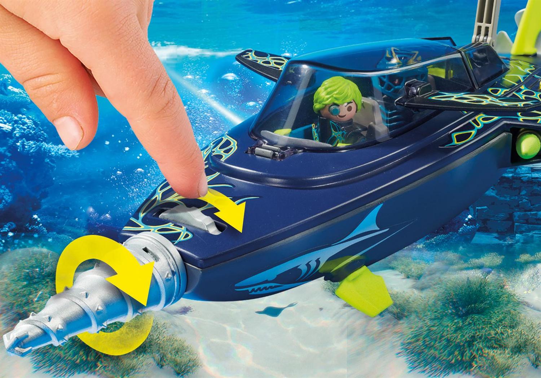 Playmobil Top Agents Sottomarino da assalto del Team S.H.A.R.K.