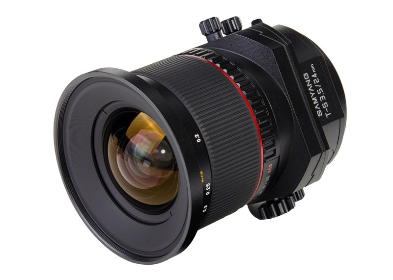 Samyang 24mm f/3.5 ED AS UMC - Canon EF