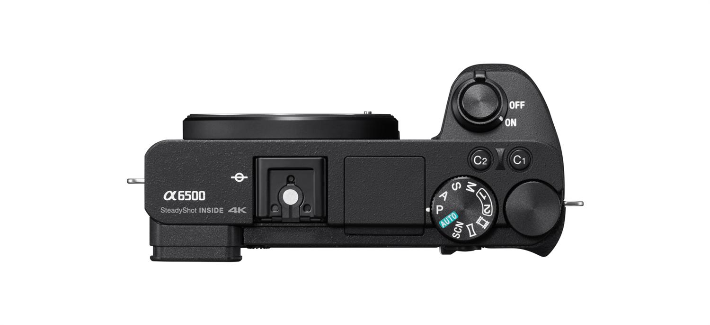 Sony A6500 Corpo