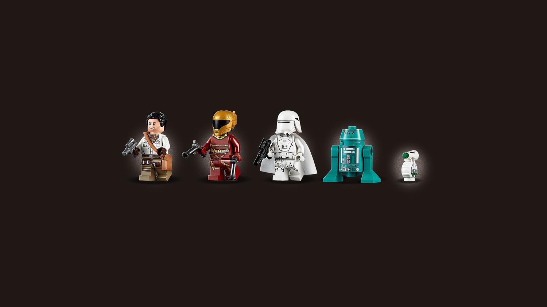 Lego Star Wars 75249 Y-Wing Starfighter della Resistenza