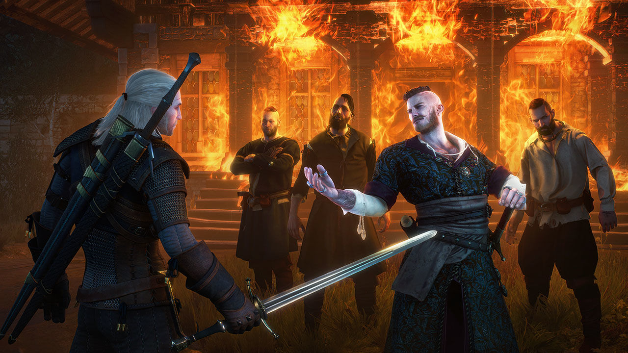 Bandai Namco The Witcher 3: Wild Hunt Game of the Year Edition