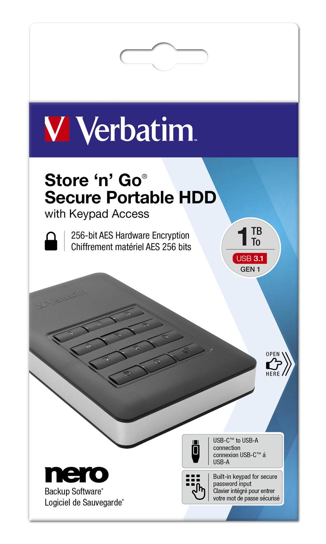 Verbatim Store 'n' Go Secure 1TB