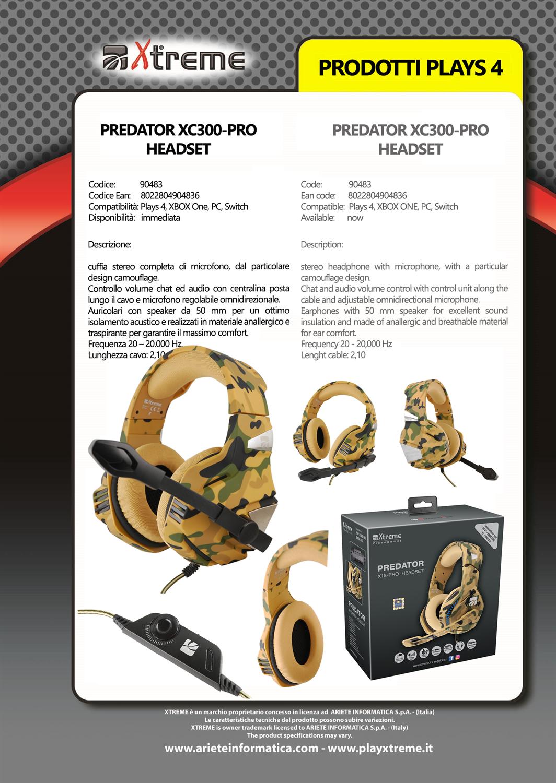 Xtreme Predator XC300-Pro