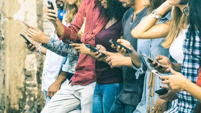 Smartphone colorati