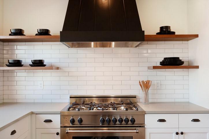 cappa da cucina nera