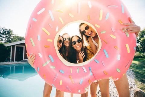 gonfiabile donut