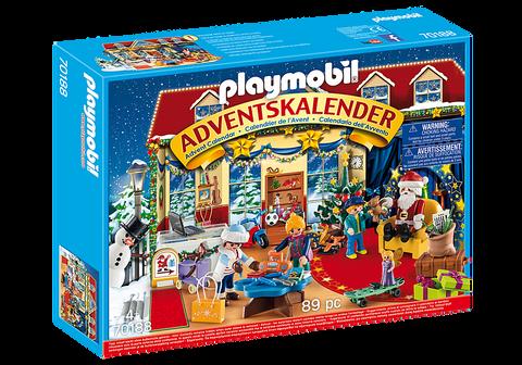 Calendario dellAvvento Playmobile Il negozio dei giocattoli di Natale