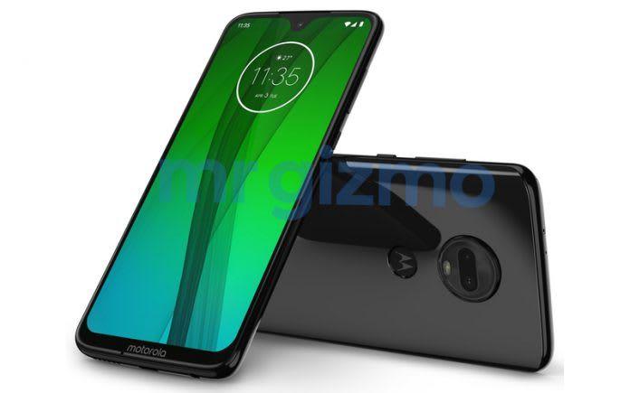 Motorola-Moto-G7 Render-trovaprezzi