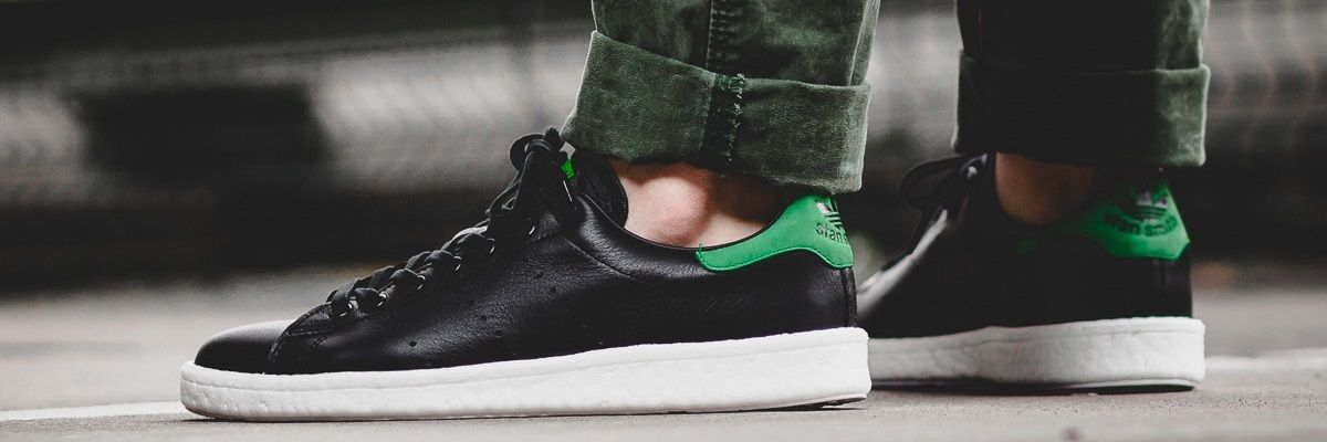 adidas stan smith black green trovaprezzi