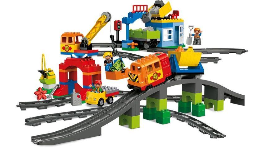 Lego treno deluxe Duplo trovaprezzi