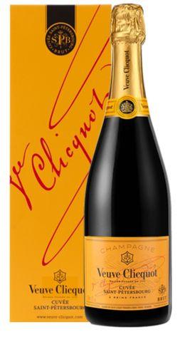 Veuve Clicquot Cuvee Saint Petersbourg Champagne AOC