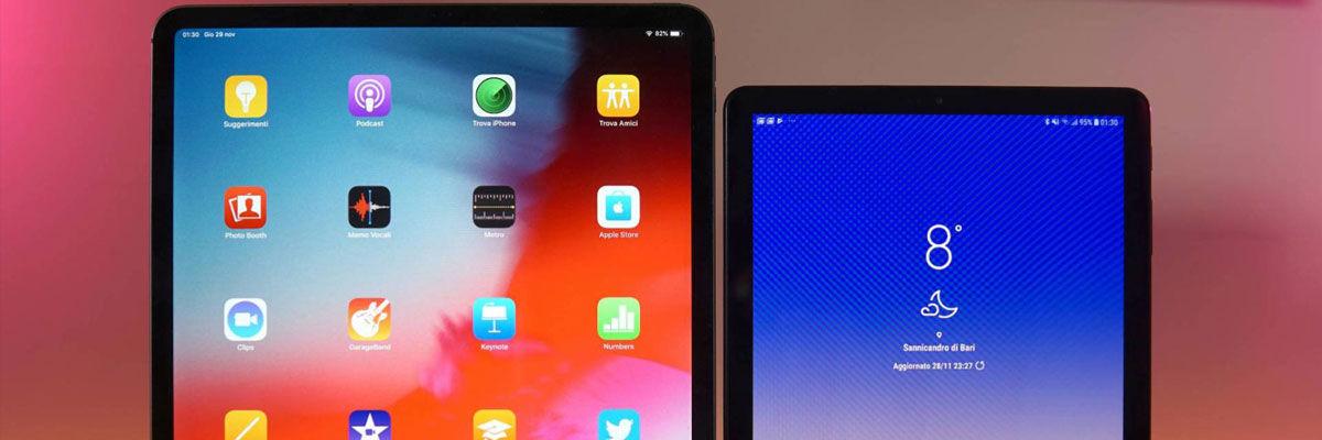 Confronto tra Galaxy Tab S4 e iPad Pro | Trovaprezzi.it Magazine