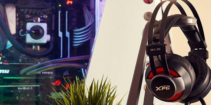Cuffie Gaming Adata Emix H30