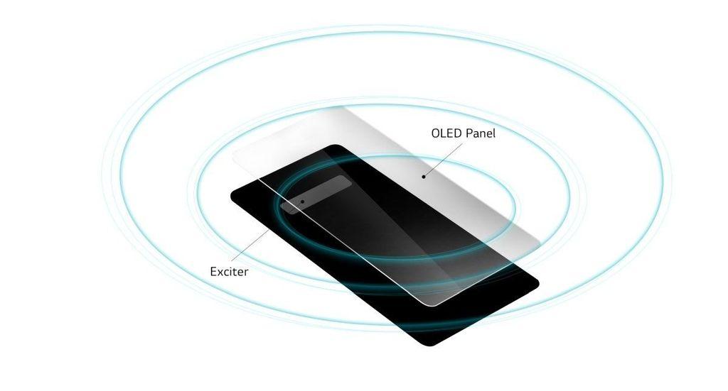 LG G8 Crystal Sound OLED