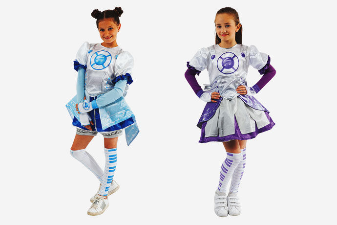 Costume carnevale Miracle Tunes