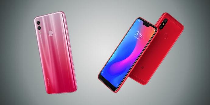 Honor 10 Lite vs Xiaomi Redmi Note 6 Pro