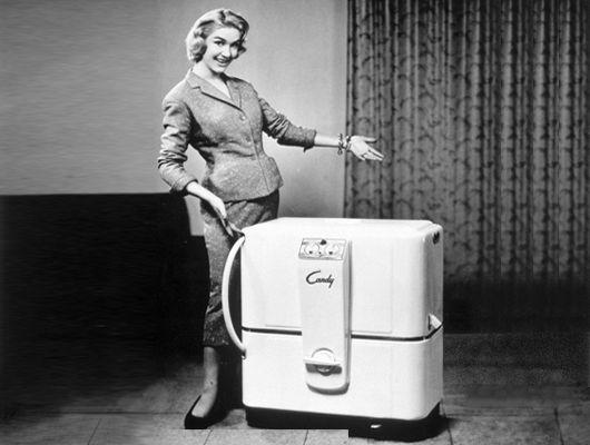 Candy lavatrice anni 50
