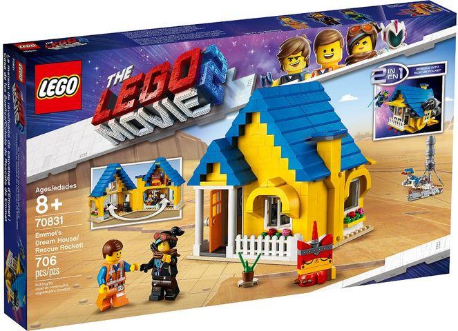 Lego casa dei sogni Razzo di soccorso di Emmet