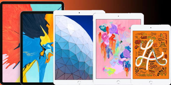 Apple iPad tutti i modelli