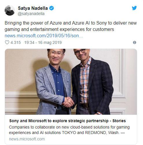 Microsoft e Sony
