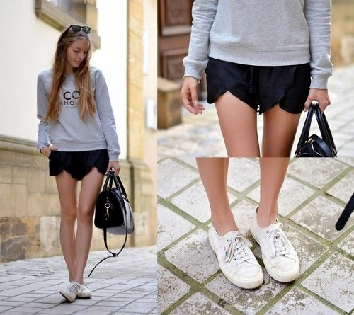 Superga e shorts