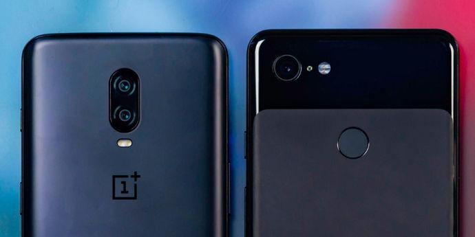 Google Pixel 3a vs OnePlus 6T