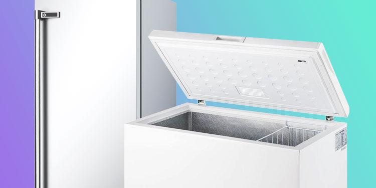 congelatori verticali e congelatori orizzontali
