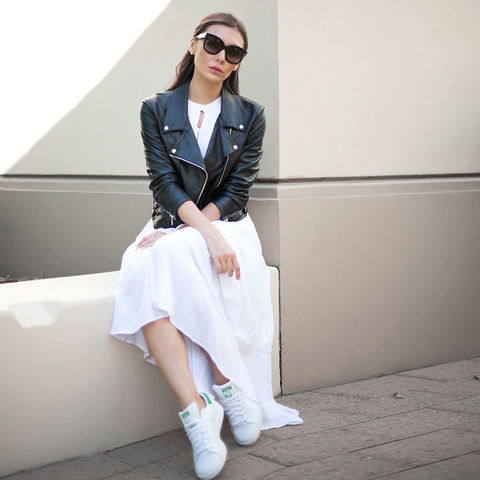 Adidas stan smith bianche outfit