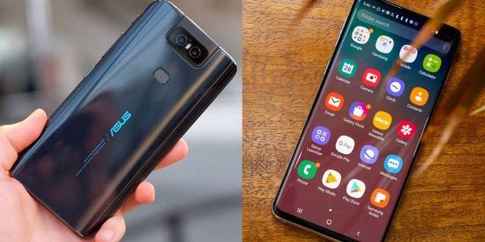 Asus Zenfone 6 vs Galaxy S10