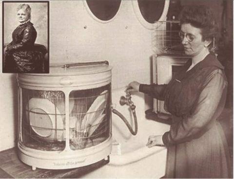 Josephine-Cochrane inventrice della lavastoviglie