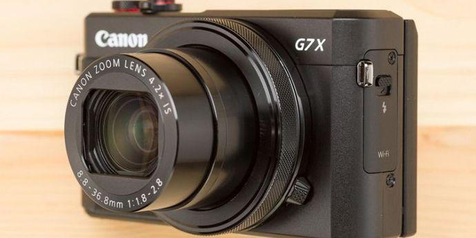 Canon G7 X Mark III