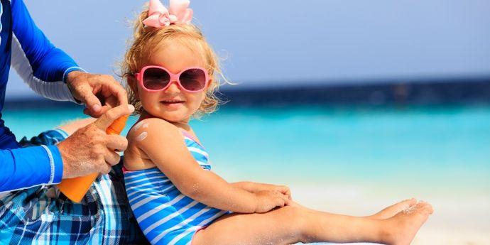 creme solari per bambini e neonati